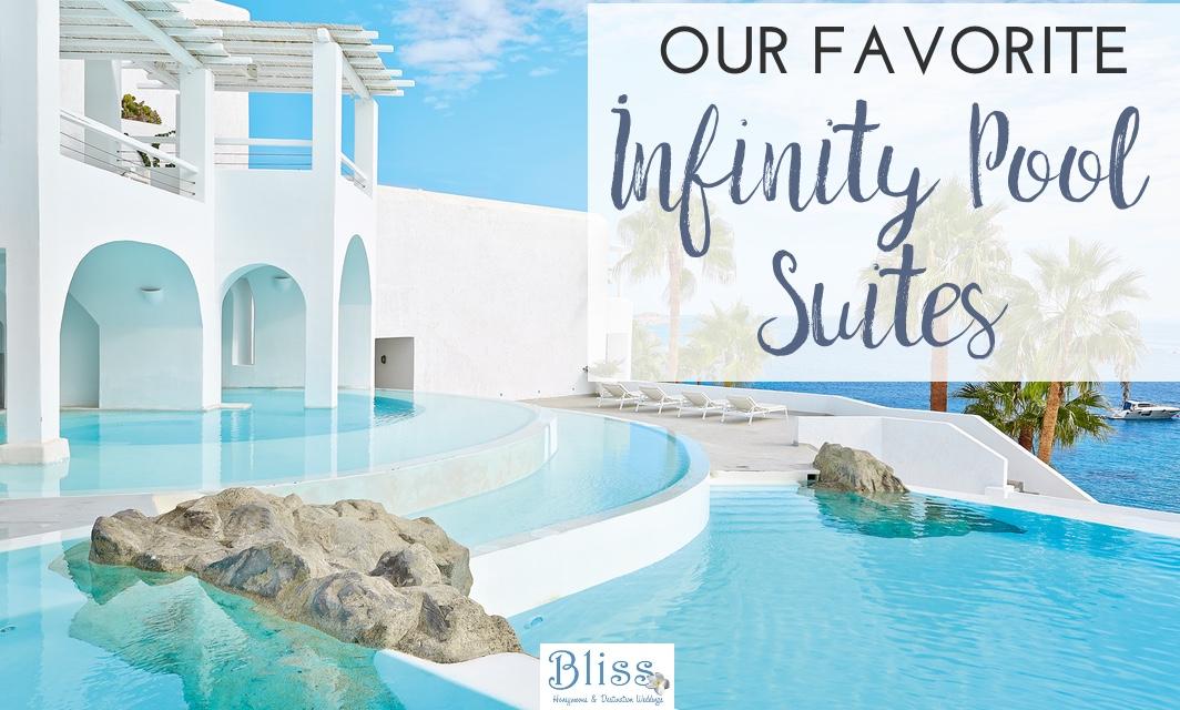 infinity pool suites