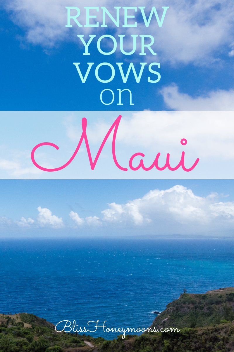 Maui is a destination you just might want to explore. Private, intimate vow renewal ceremonies can easily be followed by a second honeymoon trip if you choose this destination for the big day. Here are four reasons why Maui is such an ideal place for your vow renewal: