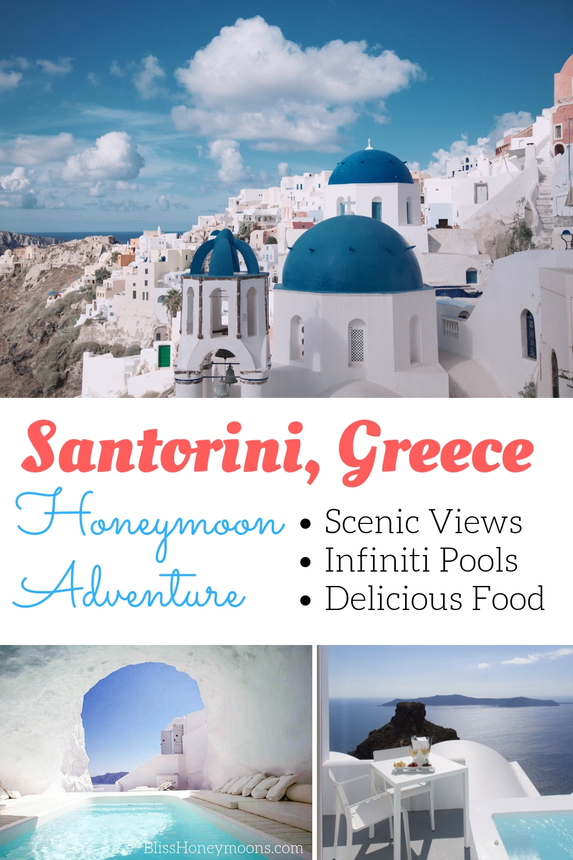 Santorini infinity pools