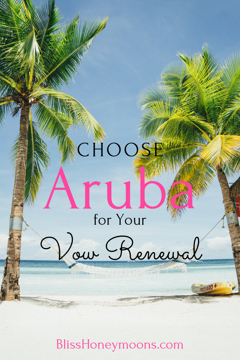 "Why would you want to select Aruba for your vow renewal or a second honeymoon? Aside from the amazing Carribean breeze, there are many reasons to choose Aruba aka ""one happy island"". Read our top reasons to select Aruba for your destination wedding or vow renewal."