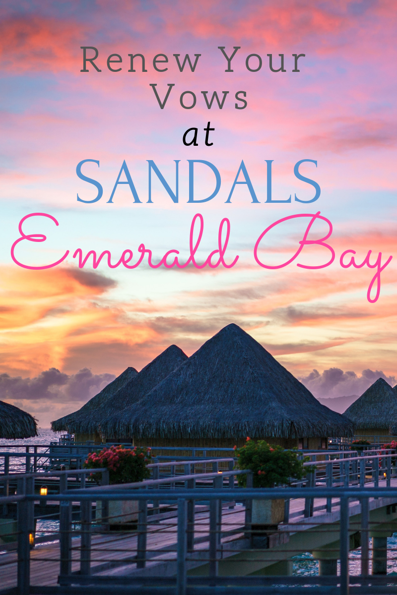 Renew your vows at the luxurious Sandals Resort at Emerald Bay. Swim the majestic waters of the Exhumas or relax on the white sandy beaches and end the day with fine cuisine. This is the perfect resort for your vow renewal, anniversary trip, or destination wedding.