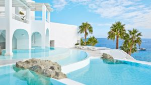 gay friendly Greek island honeymoons mykonos