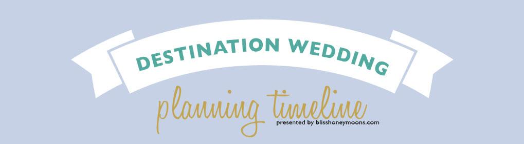 destination wedding planning timeline