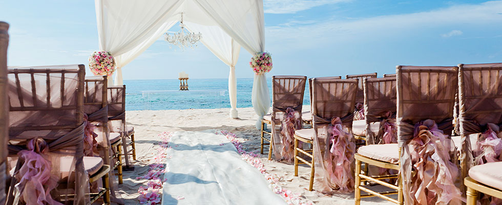Beach Resort Wedding Packages - Beach Ceremony