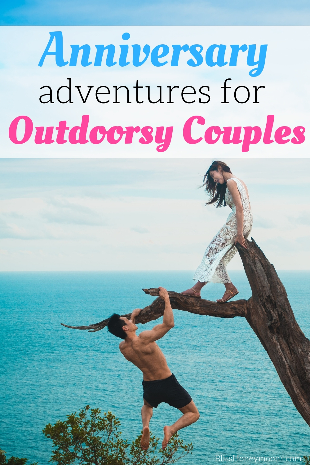 outdoor anniversary adventure