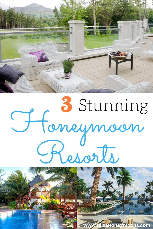 3 stunning honeymoon resorts, El Dorado Royale honeymoon, best honeymoon resorts, top honeymoon resorts, Powerscourt Hotel honeymoon, Unico honeymoon