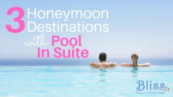honeymoon suites plunge pool