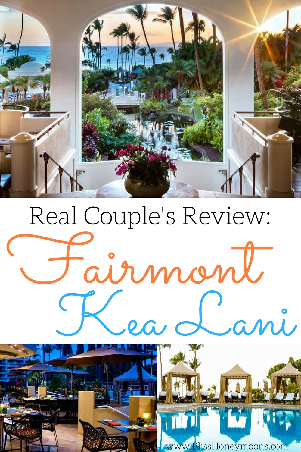 Fairmont Kea Lani review, real couples review Fairmont Kea Lani, Fairmont Kea Lani honeymoon, best destination honeymoon, best Hawaii honeymoon, best destination wedding travel agent