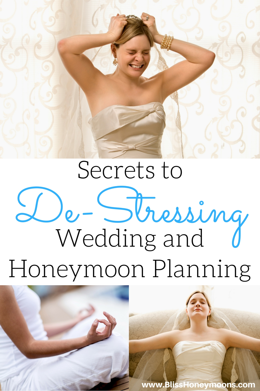 coping with wedding planning stress, de-stressing wedding and honeymoon planning, secrets for peaceful wedding planning, minimize wedding stress, keep your cool wedding planning, peaceful destination wedding planning