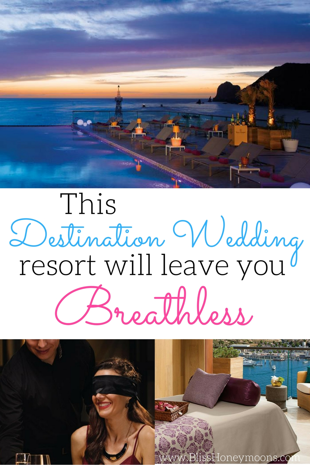 Wedding review Breathless Cabo San Lucas, dinner in the dark Cabo San Lucas, dinner in the dark Breathless, honeymoon review Cabo San Lucas, best Cabo Sal Lucas honeymoon, best destination wedding travel agent, Bliss Honeymoons Cabo San Lucas