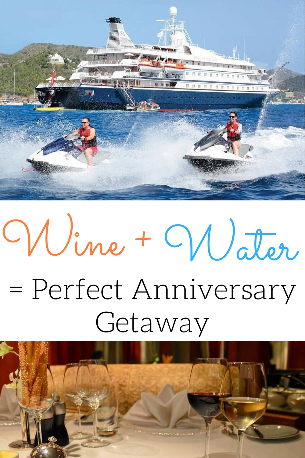 romantic wine cruise, Perfect anniversary getaway idea, wine water romance, romantic Caribbean sailing, wine and sailing adventure, romantic Caribbean adventure, Schug Carneros Estate Winery sail, SeaDream Yacht Club Wine Voyages, SeaDream Yacht Club and Schug Carneros Estate Winery