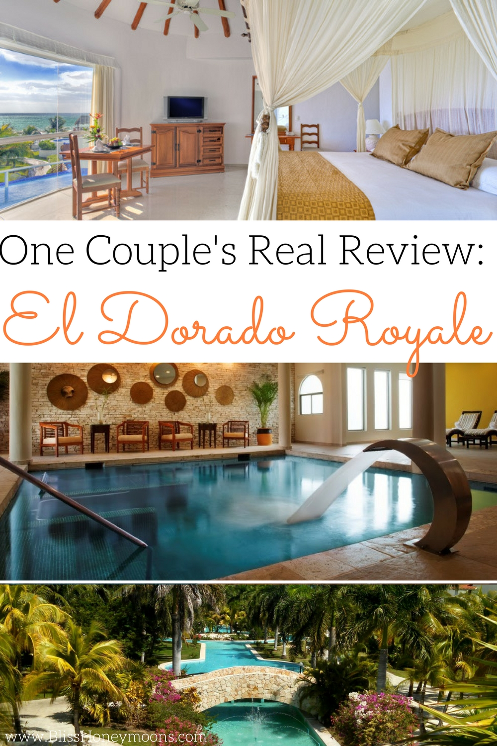 Real review El Dorado Royale, D'Italia Casitas review, best swim up suite, El Dorado Royale Casitas review, best travel agent, Bliss Honeymoons review, best romantic trip