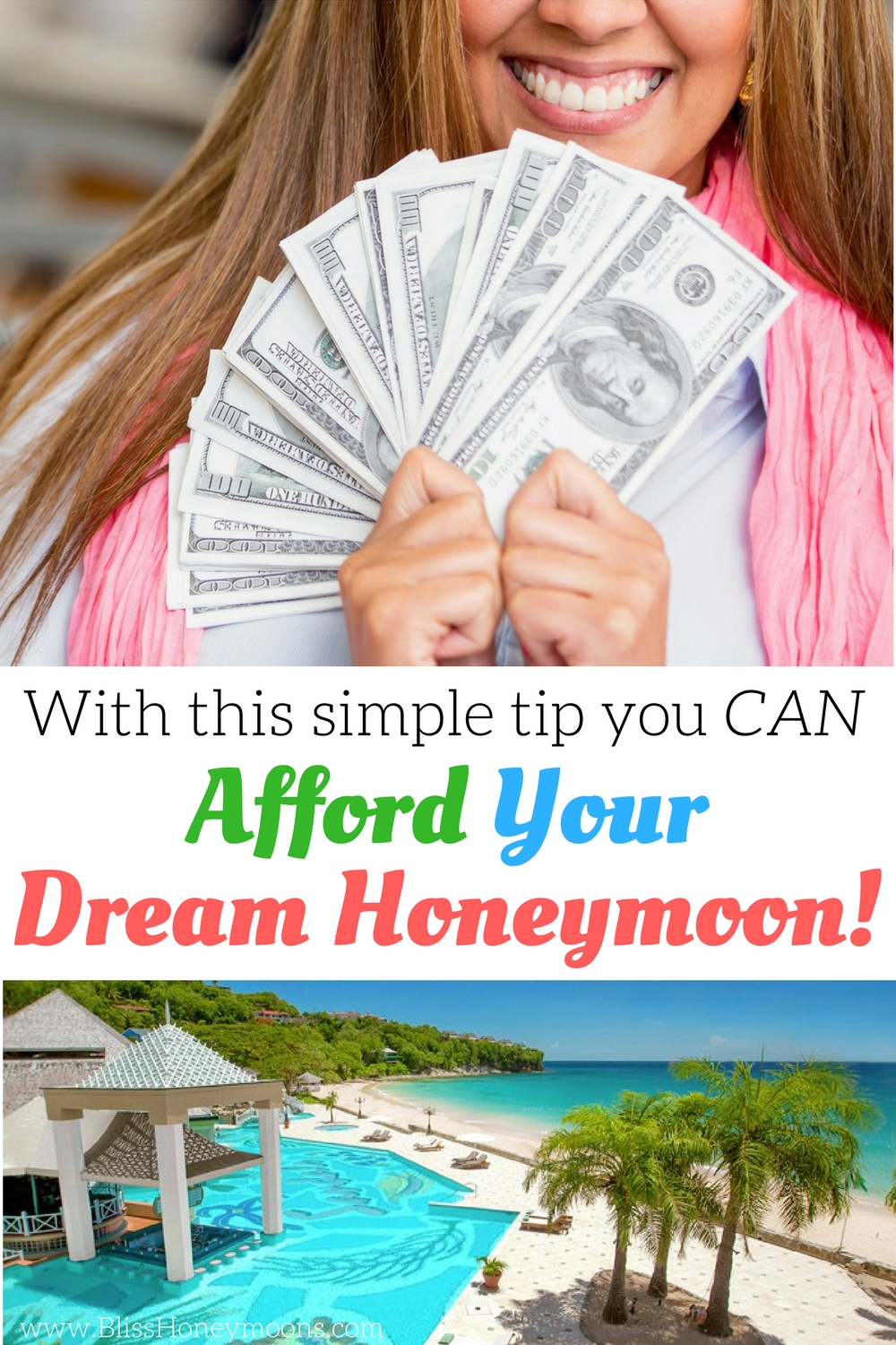 afford your dream honeymoon