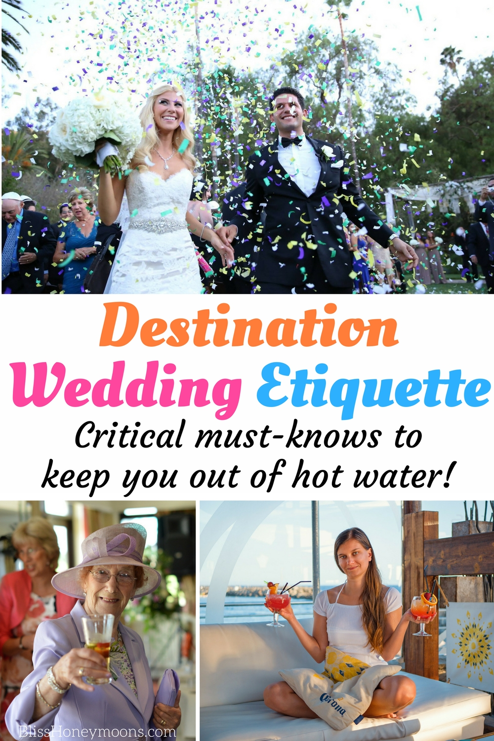 destination wedding etiquette
