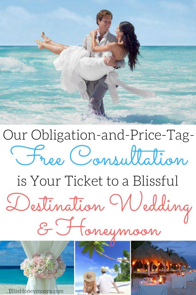 free destination wedding consultation