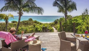 Bahamas boutique hotels pink sands beach view
