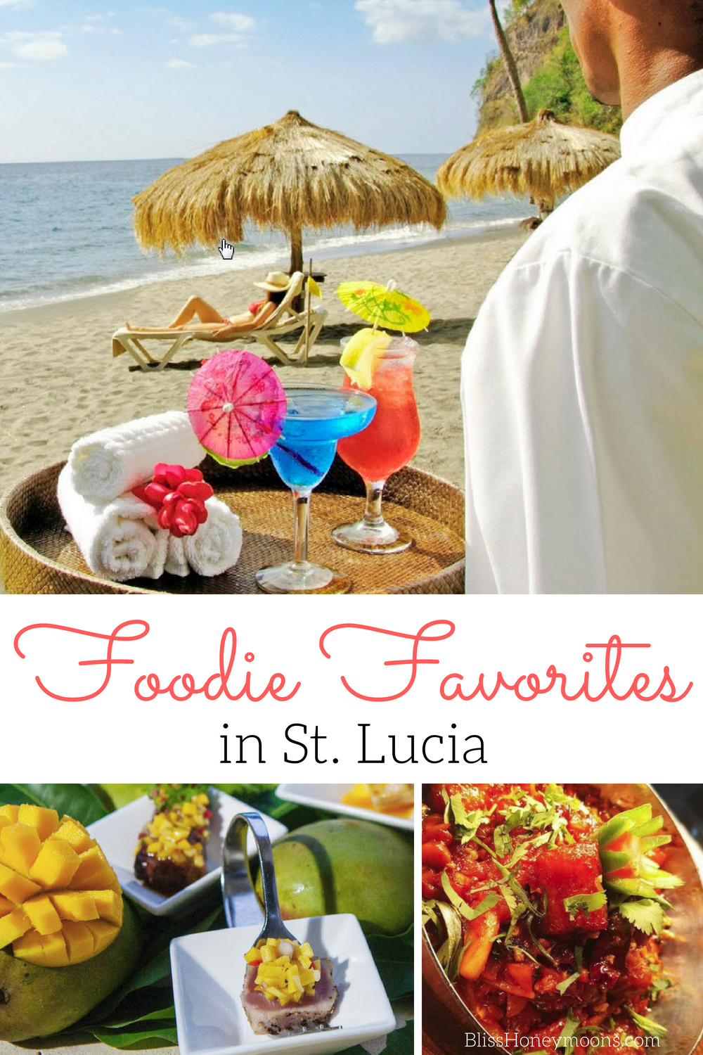 foodie favorite destination St. Lucia