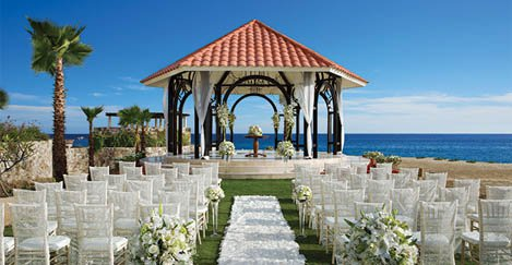 Secrets Puerto Los Cabos honeymoon review wedding gazebo