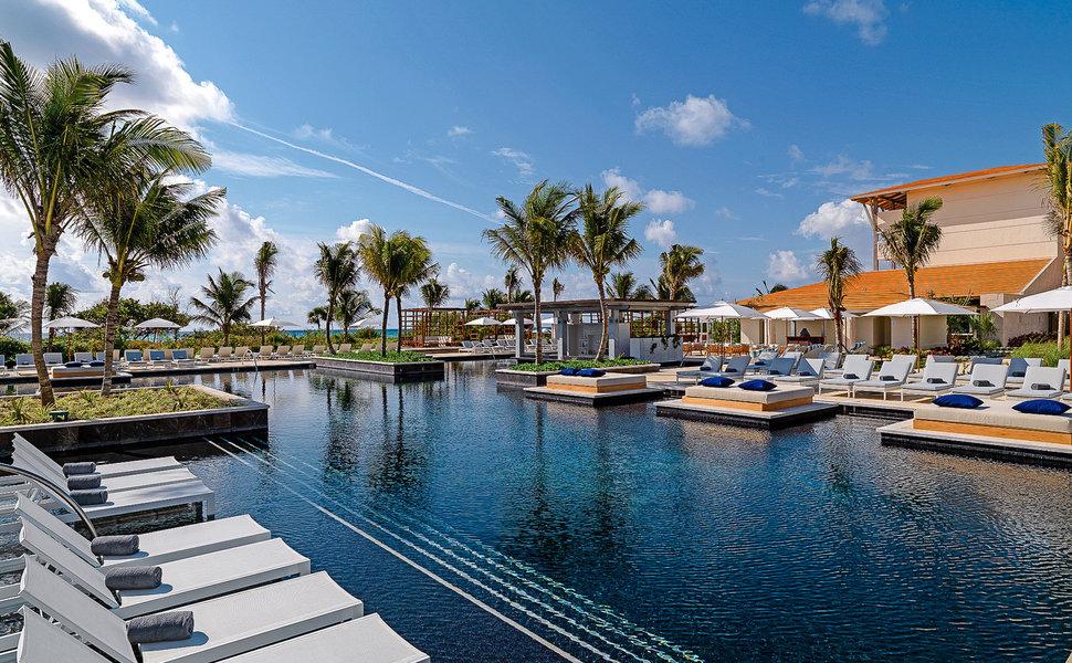 Unico Riviera Maya review boat canal harbor