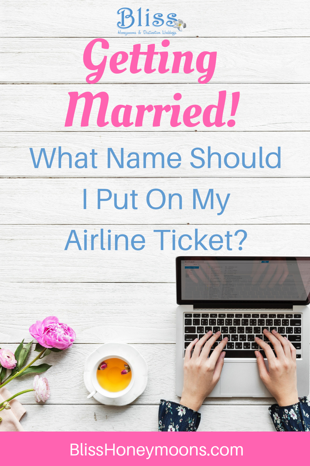 Married Name on Plane Ticket