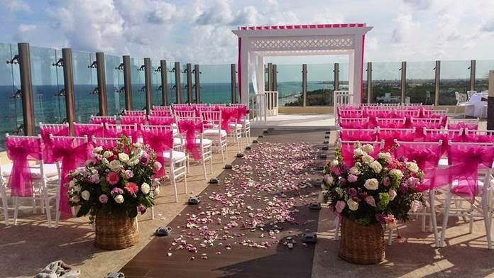 Generations Riviera Maya rooftop destination wedding