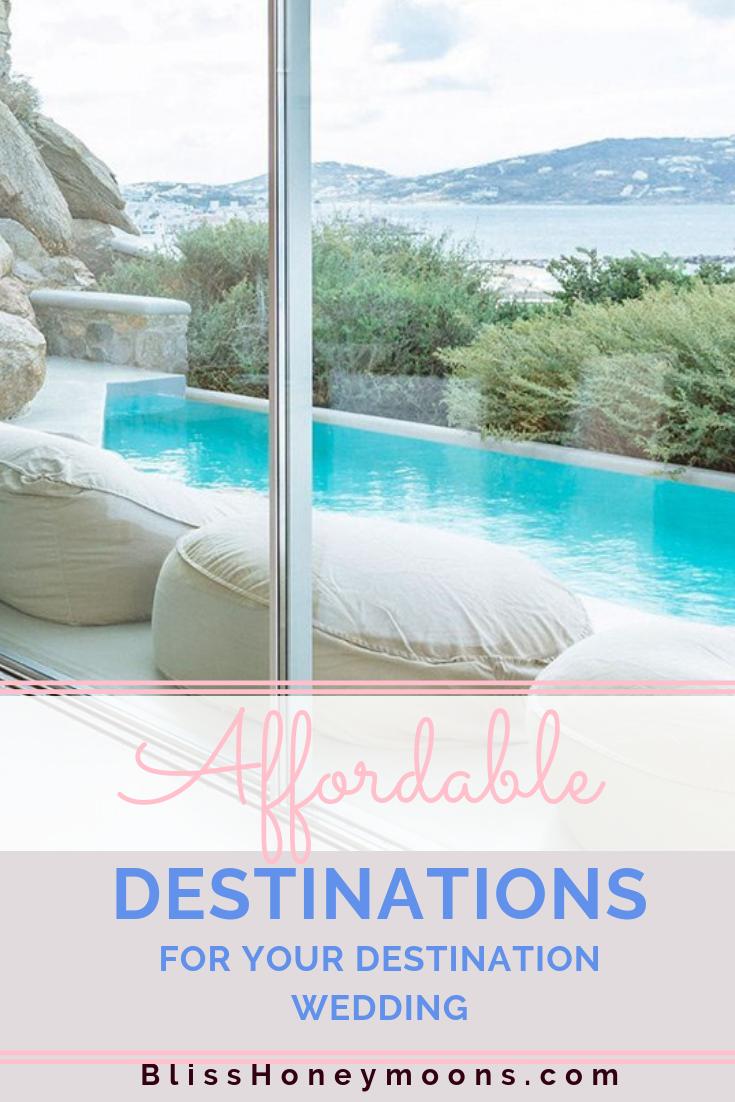 Affordable Destination Wedding Locations
