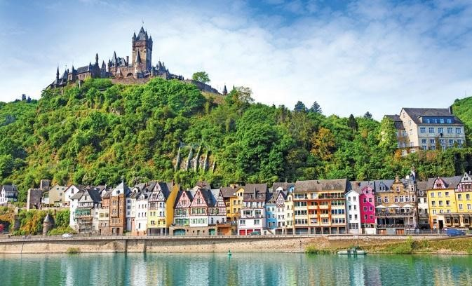 Rhine Highlights River Cruise in The Netherlands Frand Germany Switzerland
