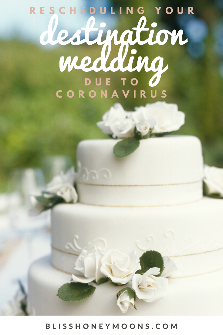 Need to reschedule your destination wedding or honeymoon due to the coronavirus and you can't get a response from your hotel or airline?  We can help.