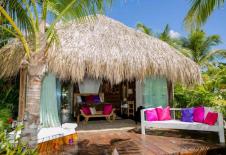 Aruba Ocean Villas Orquidea Beach Bungalow sitting area