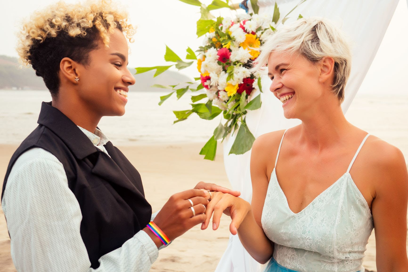 LGBTQA+ destination weddings and honeymoons